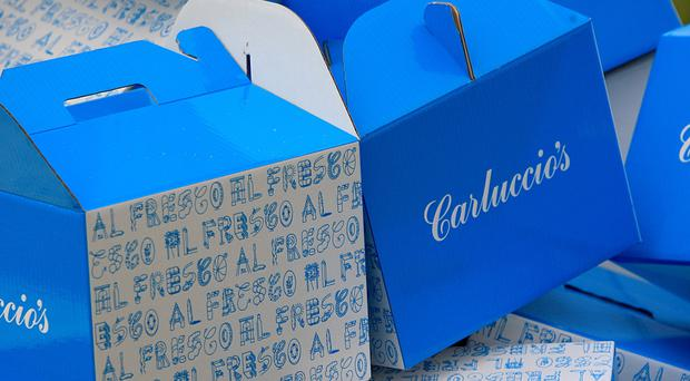 Carluccio's is one of a number of restaurant chains which have come under pressure (PA)