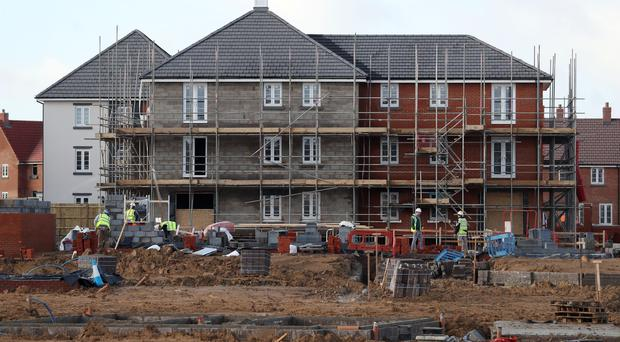 Telford is cashing in on demand for homes (Andrew Matthews/PA)