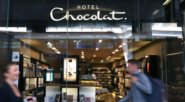 Hotel Chocolat said proceeds supported the firm's growth (PA)