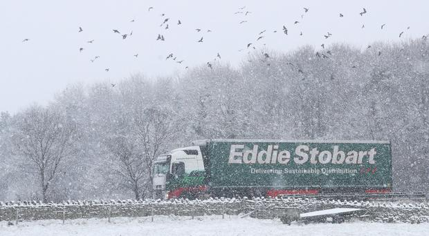 Stobart has issues at the top (PA)