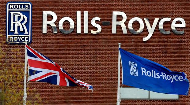 Rolls-Royce announced 4,600 jobs were being axed in the firm's latest shakeup (Rui Vieira/PA)