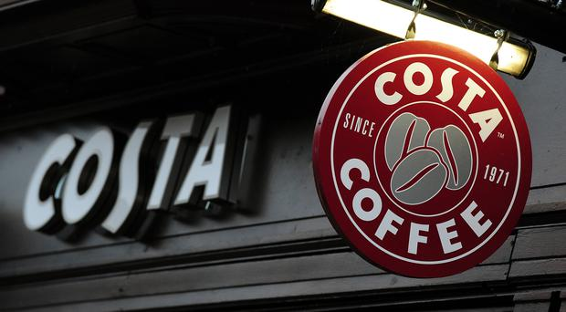 Costa is being de-merged from Whitbread (Rui Vieira/PA)