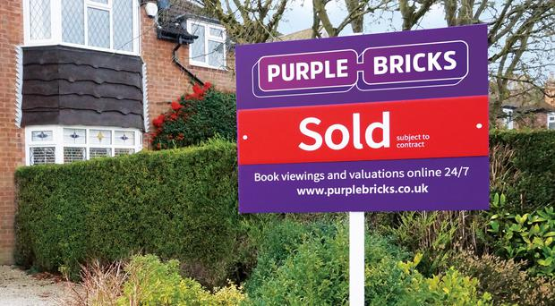 Purplebricks recently acquired a Canadian real estate business (Purplebricks/PA)