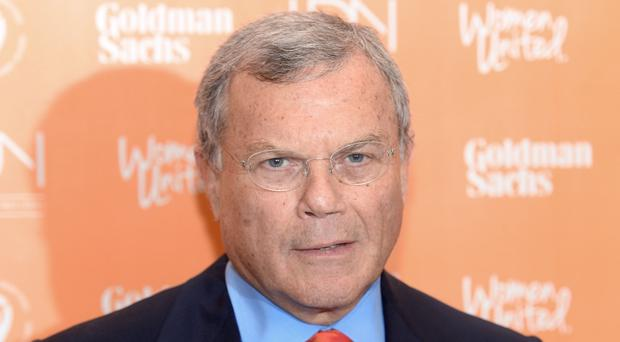 Sir Martin left WPP in April (Anthony Devlin/PA)
