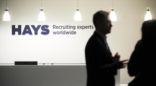 Hays expects profits to come in ahead of consensus (PA)