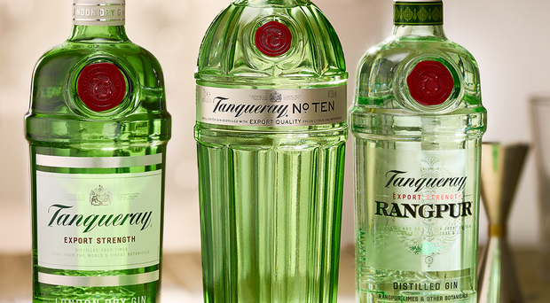 The soaring popularity of gin has helped drinks giant Diageo chalk up a 4.8% rise in annual profits as it toasted a double-digit surge in sales of the tipple. (Diageo/PA)