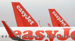 EasyJet has been hit by strike action in France (PA)