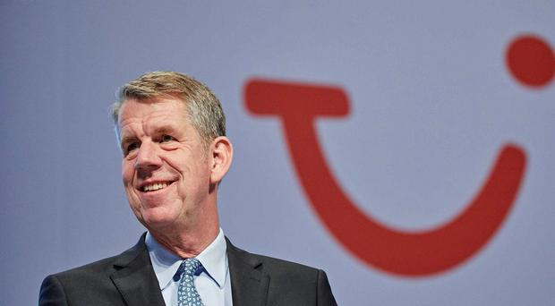 Tui CEO Fritz Joussen said it was a good third quarter (Tui/PA)