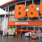 BandQ is also likely to benefit from turmoil at rival Homebase (Paul Faith/PA)