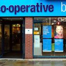 A general view of a Co-operative Bank branch in Derby (PA)