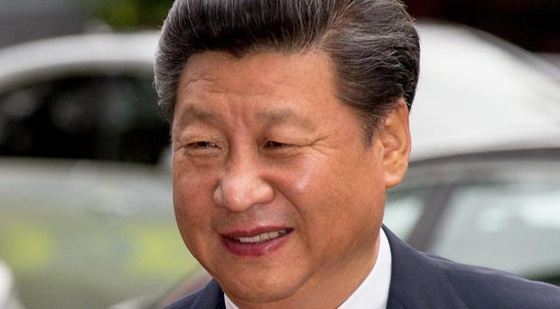The President of the People's Republic of China Mr Xi Jinping (PA)