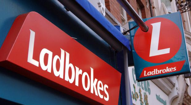 Ladbrokes owner GVC reported a jump in profits (Ian West/PA)