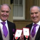 Multi-millionaires Sir David Barclay (left) and his twin brother Sir Frederick (PA)