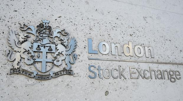 The FTSE 100 ended in positive territory (PA)