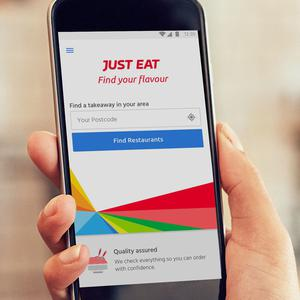 Just Eat mobile phone app (Just Eat/PA)