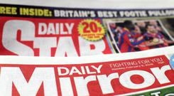 Mirror publishing group Reach has reported an increase in revenue, but saw advertising revenue decline (Yui Mok/PA)
