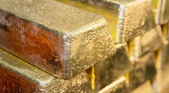 Demand for gold boosted miners (The Royal Mint/PA)