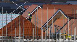 Housebuilder Bellway has shrugged off easing property prices and surging costs to post a hike in profits, but cautioned over a Brexit risk to the peak selling season.