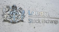 The FTSE 100 closed down on Wednesday (Kirsty O'Connor/PA)