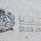The London Stock Exchange sign in the City of London (PA)