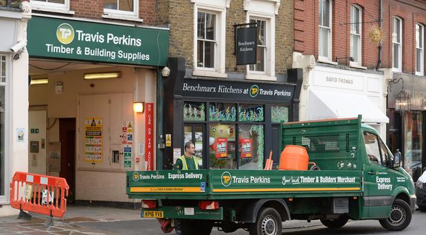 Travis Perkins is to offload its plumbing and heating division, and focus instead on serving trade customers (Kirsty O'Connor/PA)