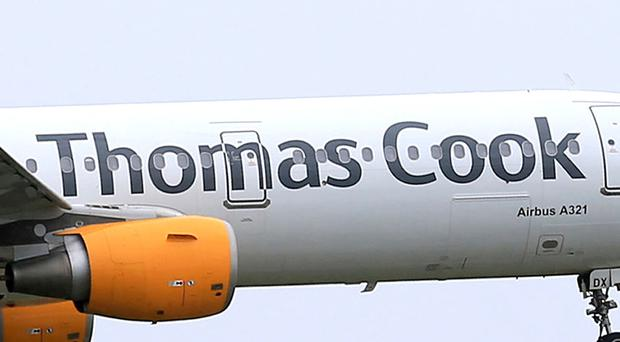 Thomas Cook shares are under extreme pressure (Tim Goode/PA)