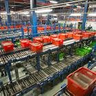 A view of Ocado's Customer Fulfilment Centre in Hatfield (PA)