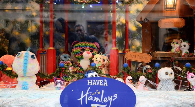 Hamleys toy store's on Regent Street, London (PA)