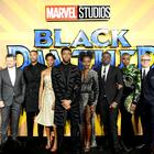 The cast and crew of Black Panther (PA)