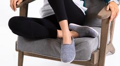 Image of Mahabis slippers. The firm, which went into administration in December 2018, has been bought by an investment boutique headed by Simba Sleep co-founder James Cox (PA)