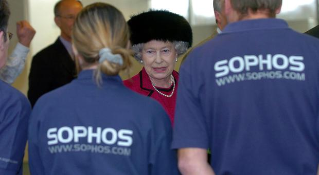 Sophos said the lacklustre figures were dragged down by challenging comparatives last year (Tim Ockenden/PA)