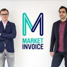 MarketInvoice co-founders, Ilya Kondrashov left, and Anil Stocker right. (Photo provided by MarketInvoice).