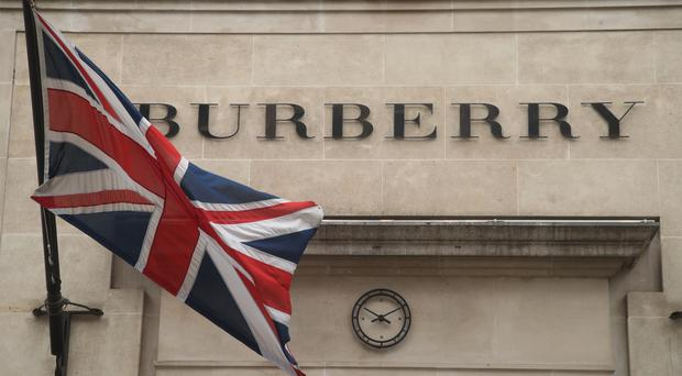 Luxury fashion brand Burberry has warned it could face tens of millions of pounds in extra tariff costs if the UK crashes out of the EU without a deal (PA)
