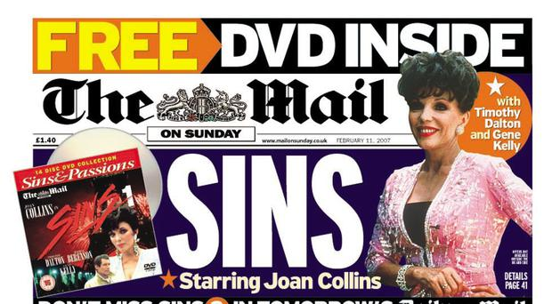 The owner of the Daily Mail and the Mail on Sunday has seen a bounceback in revenues at its newspaper and consumer arm thanks to a surge in digital advertising sales (The Mail on Sunday/PA)