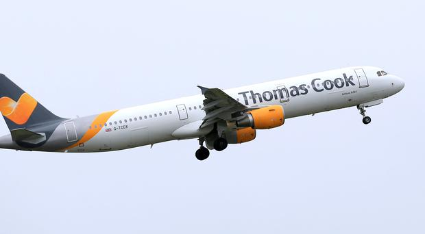 Thomas Cook's airline could be flying away (PA)