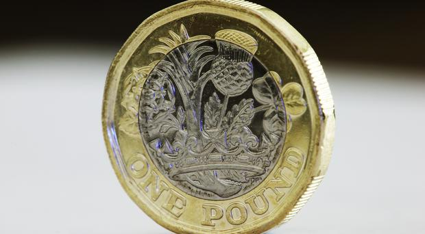 The pound was trading higher (PA)