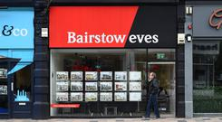 A Bairstow Eves branch as owner Countrywide has seen earnings halve in 2018 after sales woes amid a 'challenging' market (PA)