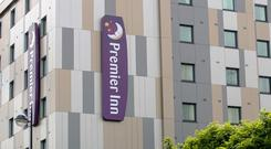 A general view of the Premier Inn hotel in Maidenhead, Berkshire, as the hotel chain's owner Whitbread unveiled plans to return another £2 billion to investors following its Costa Coffee sale and ramped up cost savings by a further £220 million.