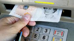 An ATM machines was stolen in Co Tyrone.