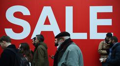 Retail sales returned to growth in January (Kirsty O'Connor/PA)