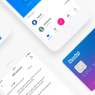 Revolut's card and mobile phone app. (Photo provided by Revolut).