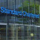Undated handout photo issued by Finsbury of Standard Chartered bank's London office. The group has put by 900 million US dollars (£688 million) for fines relating to investigations in the UK and the US stretching back more than a decade.