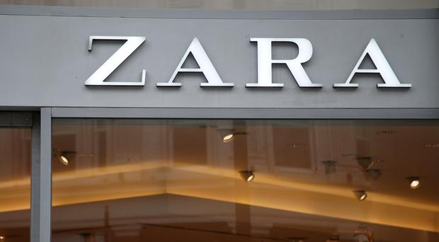 A branch of Zara on Oxford Street, central London (Yui Mok/PA)