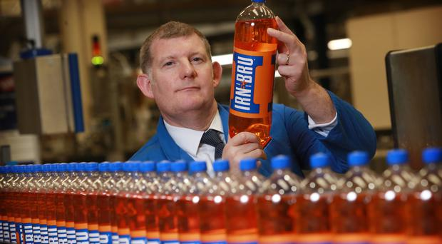Irn-Bru maker AG Barr has posted a year of rising sales as it shrugged off the sugar tax and a host of other challenges (Stewart Attwood/AG Barr/PA)