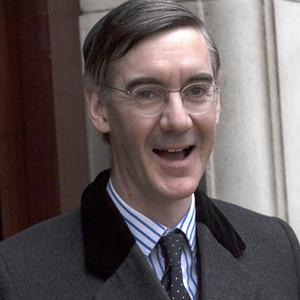 Jacob Rees-Mogg's comments bolstered the pound (Steve Parsons/PA)