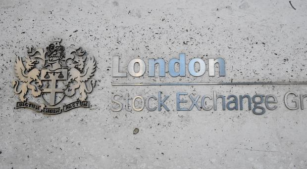 Shares were higher on Tuesday (PA)