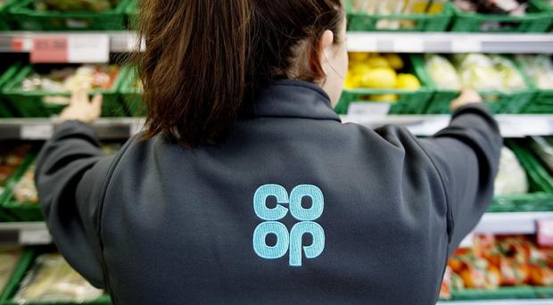 Co-op said it is tackling social issues through a range of initiatives (PA)