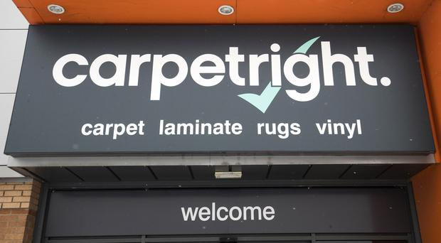 Carpetright has had a difficult time (PA)