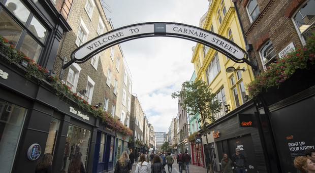Shaftesbury owns several properties in Carnaby Street (PA)