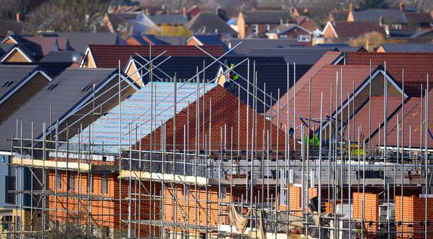 Figures from Nationwide show that house prices have now been increasing by less than 1% annually for five months in a row (Joe Giddens/PA)